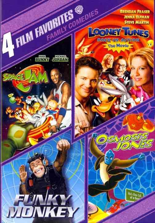 4 FILM FAVORITES:FAMILY COMEDIES (DVD)